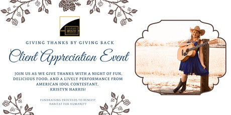 i-Lead Realty's Client Appreciation Event tickets