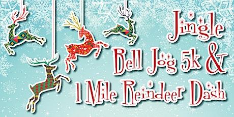 Jingle Bell Jog 5k & 1 Mile Reindeer Dash tickets