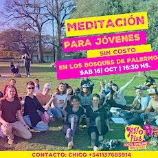 Meditación YES!+PLUS en los Bosques de Palermo! entradas