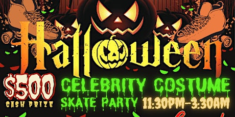 Celebrity Halloween $500 Costume Skate Party tickets