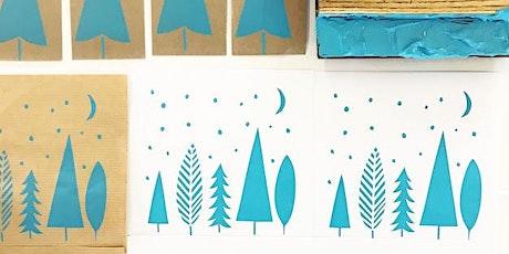 CHRISTMAS CARD PRINTING with KIWI PRINT STUDIO tickets