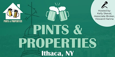 Pints and Properties tickets
