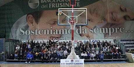 Basket Cassino vs Pallacanestro Lazio biglietti