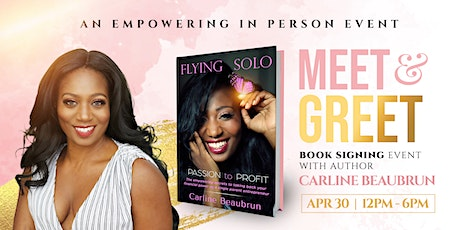 AN EMPOWERING BOOK SIGNING EVENT WITH AUTHOR CARLINE BEAUBRUN tickets