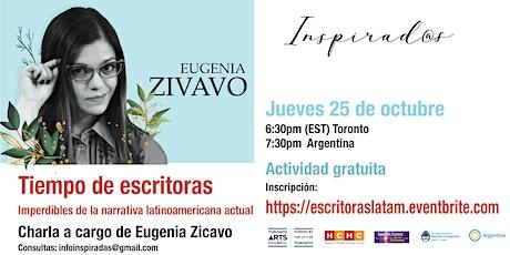 Tiempo de escritoras. Imperdibles de la narrativa latinoamericana actual. entradas