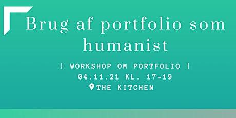 Portfolio-workshop tickets