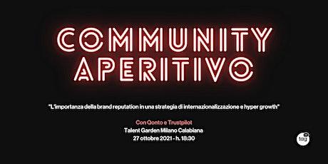 Talent Garden - Community Aperitivo con Qonto e Trustpilot biglietti