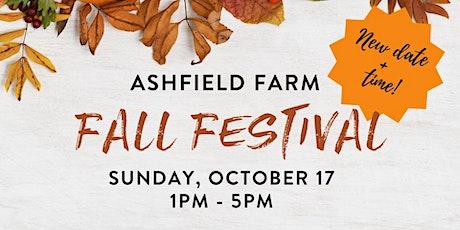 Ashfield Fall Festival tickets
