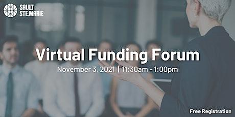Virtual Funding Forum tickets