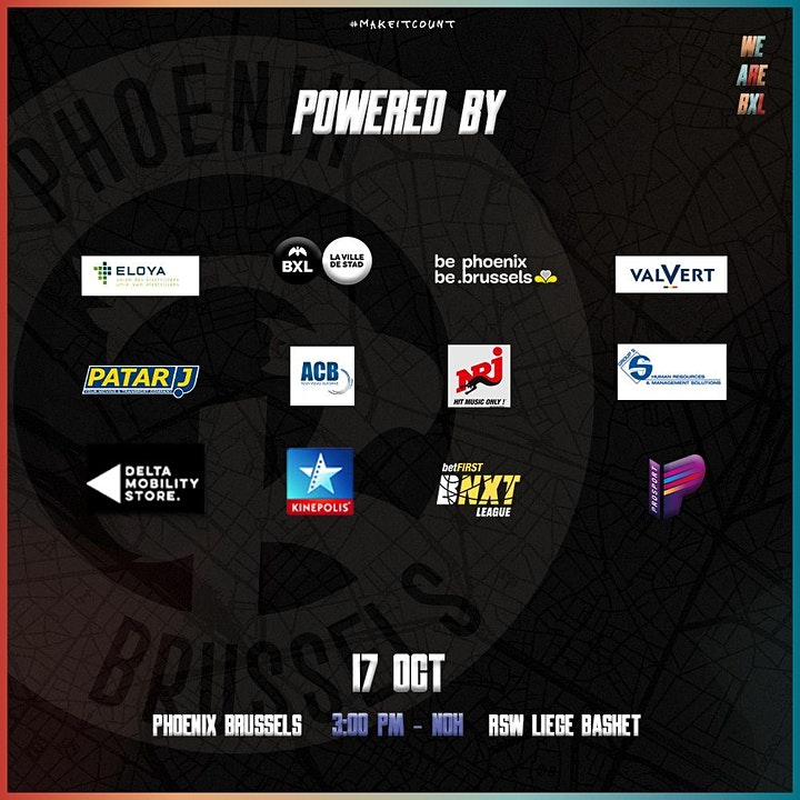 Image pour Game 4 - Phoenix Brussels vs RSW Liège Basket