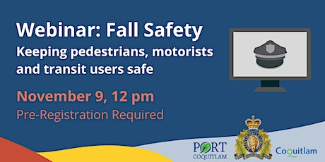 Fall Safety: Keeping Pedestrians, Motorists, and Transit Users Safe tickets