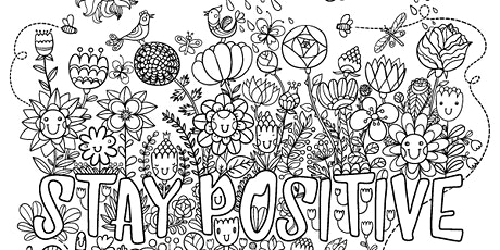 Mindfulness Colouring tickets