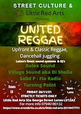 United Reggae tickets