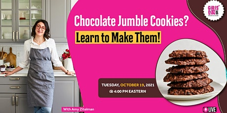 Chocolate Jumble Cookies? Learn to Make Them! LIVE INTERACTIVE WORKSHOP tickets