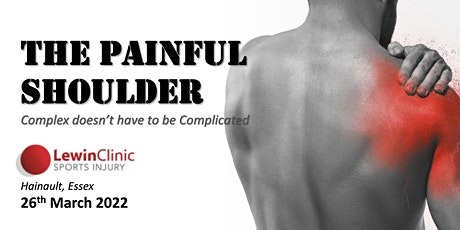 The Painful Shoulder: Complex doesn't have to be Complicated: Essex tickets