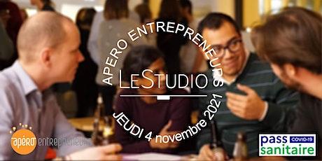 Apéro Entrepreneurs Paris @ LeStudio | Jeudi 4 novembre 2021 billets