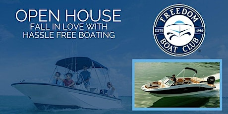 FALL in love with hassle free boating! Norfolk Open House! tickets