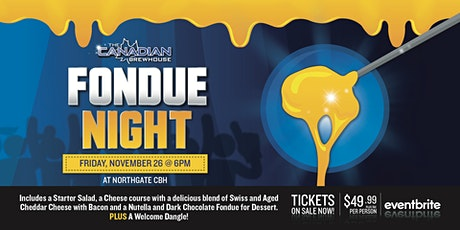 Fondue Night (Calgary - Northgate) tickets