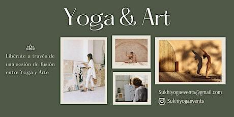 YOGA&ART entradas
