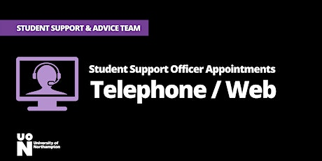 Student Support Officer appointments (Telephone/ Web) tickets