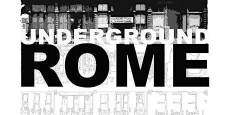 Underground Rome Tours tickets