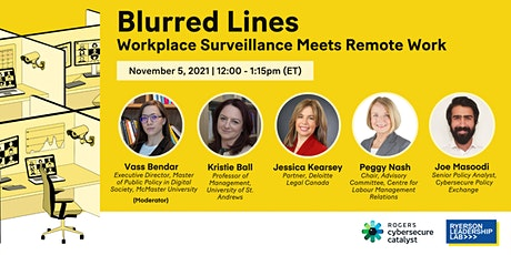 Blurred Lines: Workplace Surveillance Meets Remote Work tickets