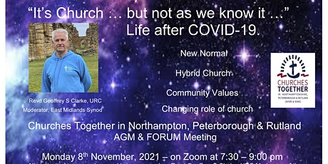 'Its Church ... but not as we know it. life after COVID-19'  CT Shire&Soke tickets
