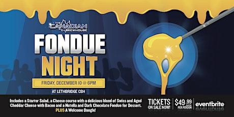 Fondue Night (Lethbridge) tickets