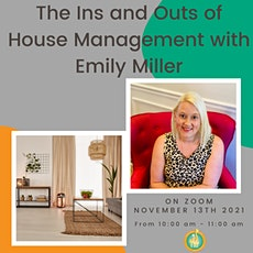 Donuts and Discussions the Ins and Outs of House Management w/ Emily Miller tickets