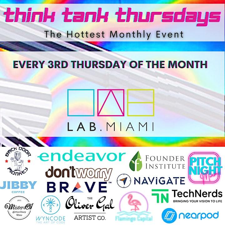 LAB Miami October's Think Tank Thursdays image