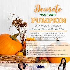 Pumpkin Decorating Get Together tickets