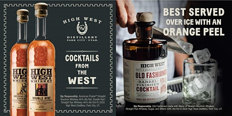 High West Tasting tickets