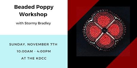 Beaded Poppy Workshop billets