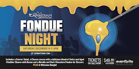Fondue Night (Edmonton - Downtown) tickets