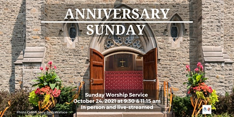 Sunday Worship - October 24, 2021- 9:30 am tickets