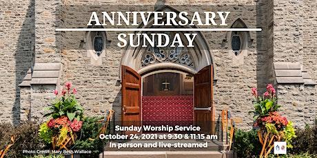 Sunday Worship - October 24, 2021- 11:15 am tickets