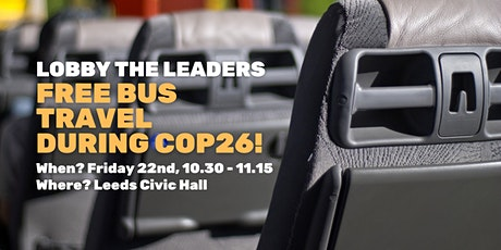 Give us free bus travel during COP26! tickets
