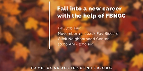 NOVEMBER 13th Employment and Workforce Resource Event @ FBGNC tickets