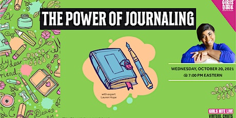 Let's Chat: The Power of Journaling with Lauren Hope tickets