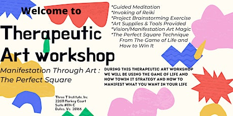 Therapeutic Art Workshop - The Perfect Square tickets