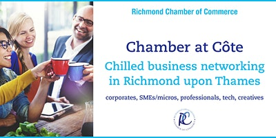 Chamber at Côte – chilled business networking in Richmond upon Thames