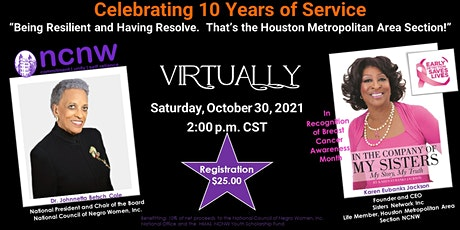 Celebrating 10 Years of Service:  Houston Metropolitan Area Section NCNW tickets