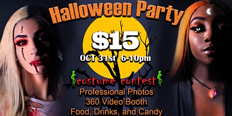 Halloween Party (360 Booth, costume contest, professional photos, +) tickets