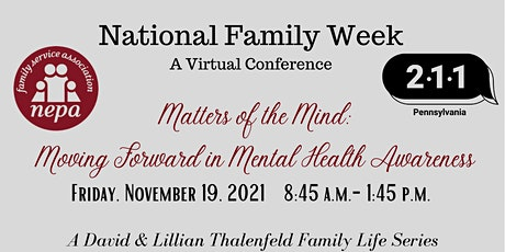 Matters of the Mind: Moving Forward in Mental Health tickets