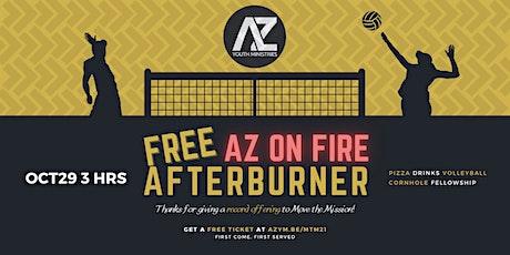 2021 AZ On Fire Afterburner (FREE!) tickets