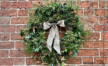 Sustainable Christmas Wreath Making Workshops tickets