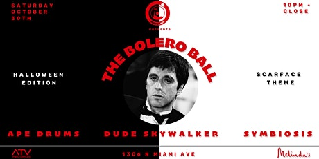 THE BOLERO BALL HALLOWEEN ~ APE DRUMS x DUDE SKYWALKER ~ SATURDAY OCT 30 tickets