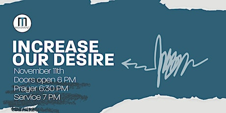 YA Monthly Celebration - Increase our  Desire tickets
