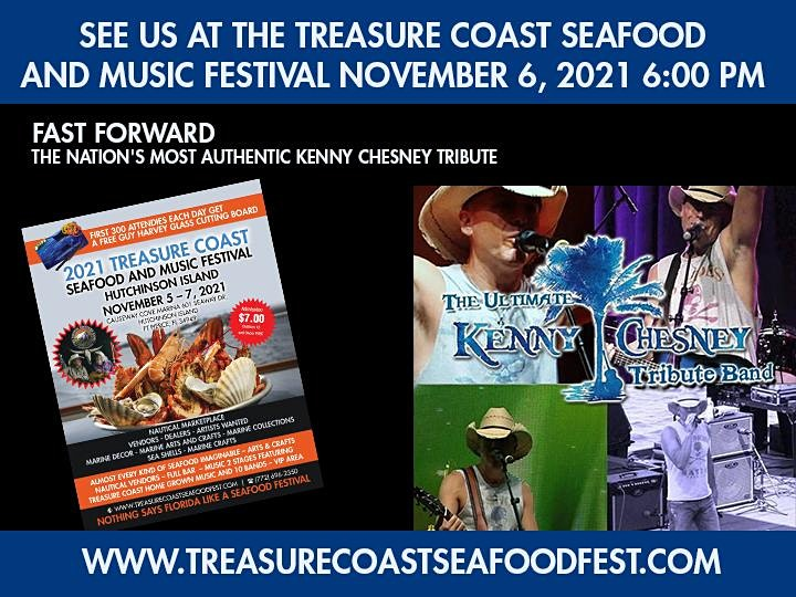 Nation's Most Authentic Kenny Chesney Tribute Treasure Coast Seafood Music image