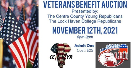 2nd Annual Veterans Benefit Auction tickets